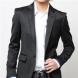 黒ジャケット×白シャツはモテる男の黄金コーディネート